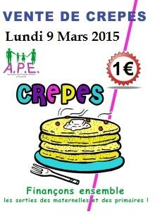 vente crepes mars 2015